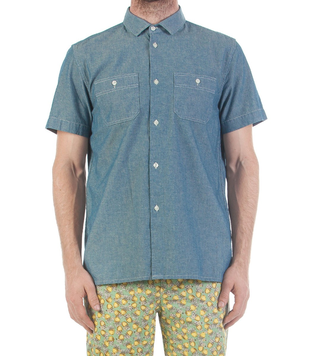 Relax Fit Chambray SS Shirt