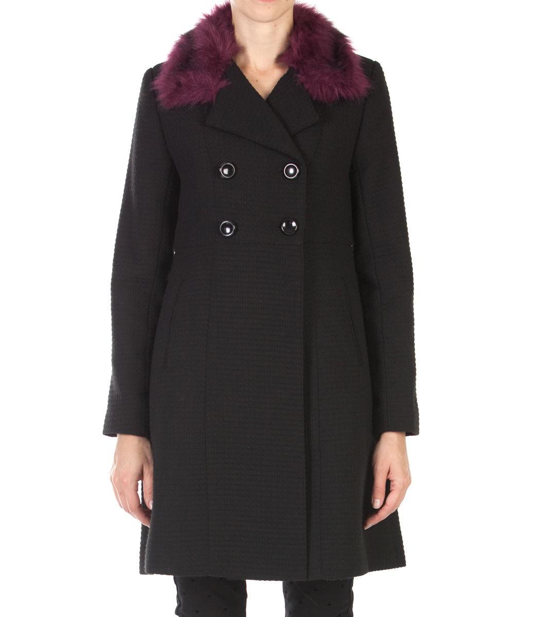 Miller Fur Trim Coat