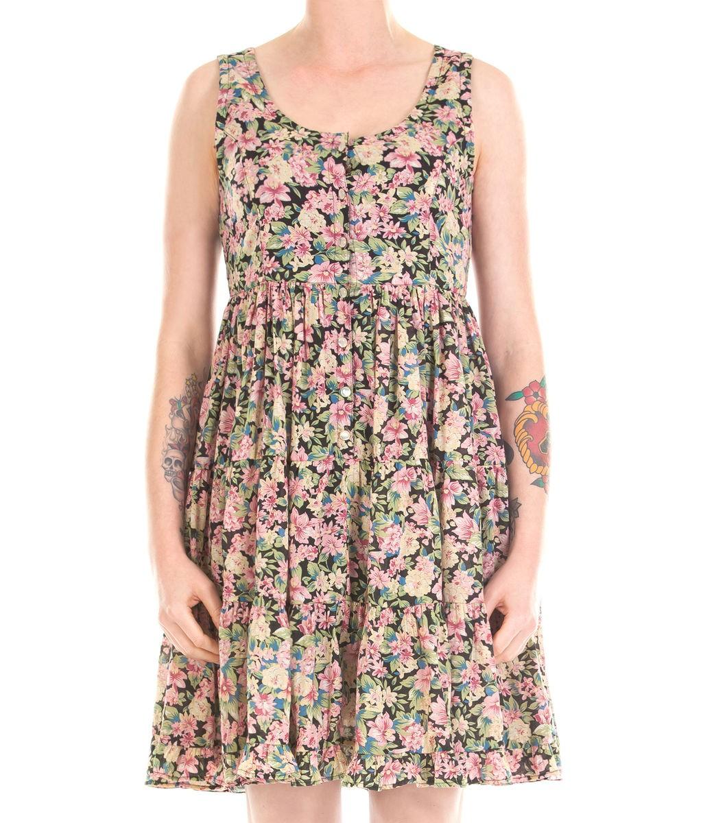 Rita Floral Swing Dress