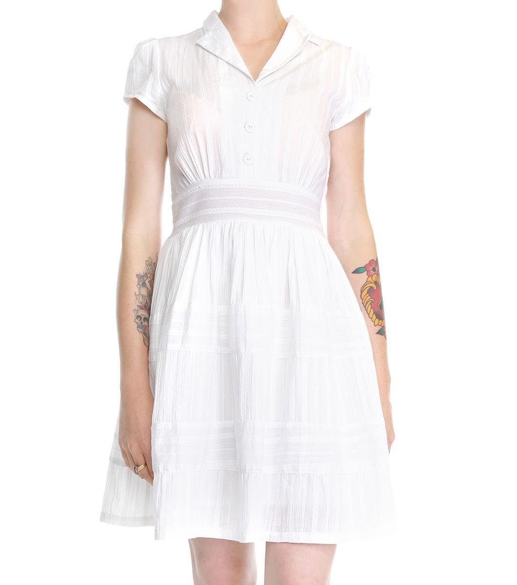 Stripey Sun Dress