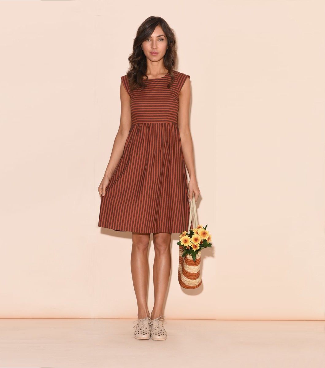 Riley Stripe Dress