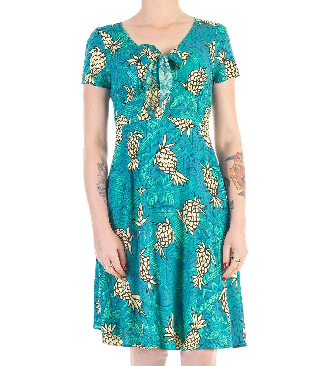 Diana Dors Pineapple Dress