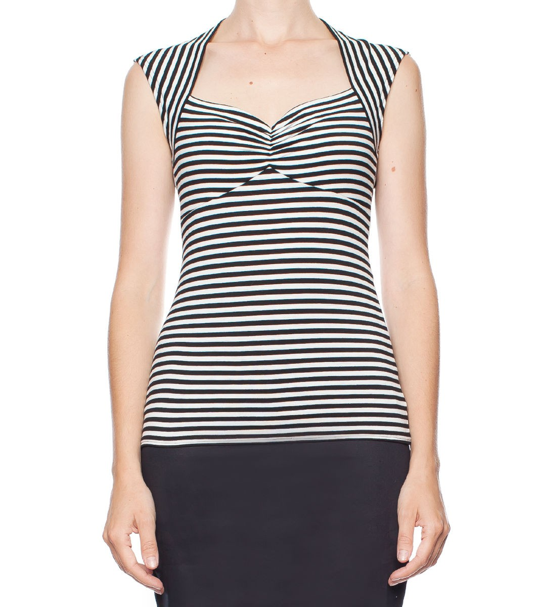 Rachel Stripe Top