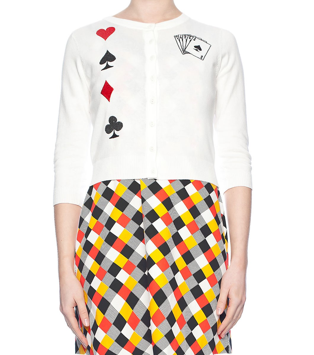 Deck Of Cards Cardigan