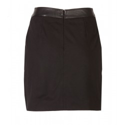 Sugar Town Leather Skirt