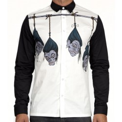 R Shrunken Head L/S Shirt