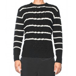 Striped Cable Jumper
