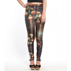 Glaxy Rose Stretch Pant