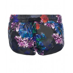 Flower Bomb Zip Short