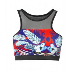 Tropic Thunder Mesh Crop