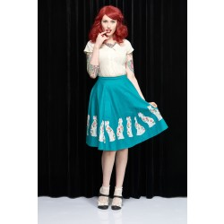 The Porcelain Cat Skirt