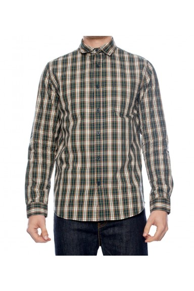 College Checkered L/S Shirt