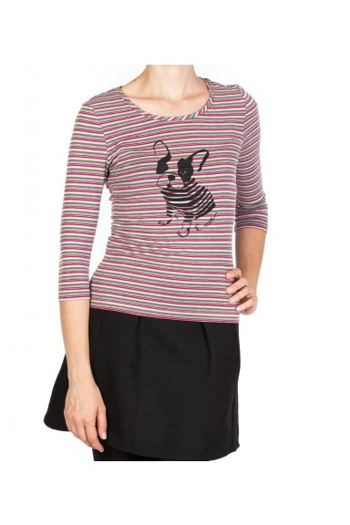 Frenchie Stripe Top