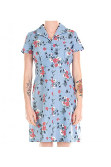 Lena Floral Tea Dress