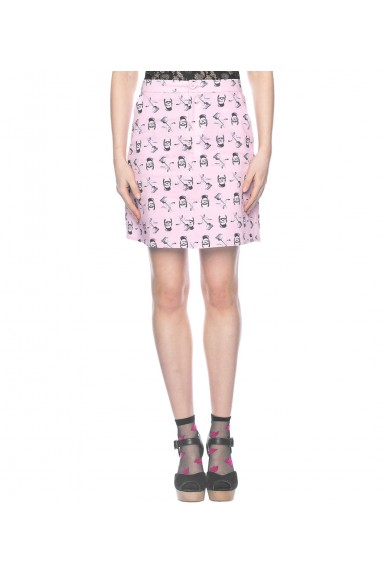 Blk Fri Frankenstein Skirt