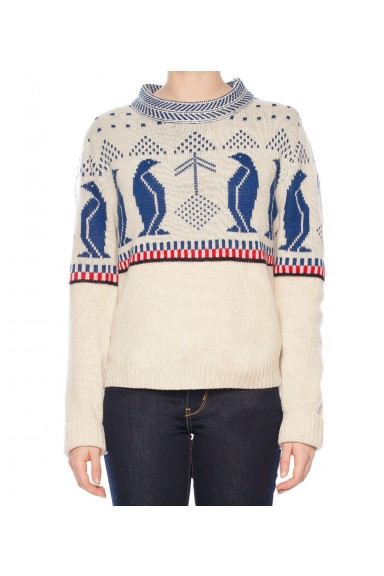 Women Penguin Knit