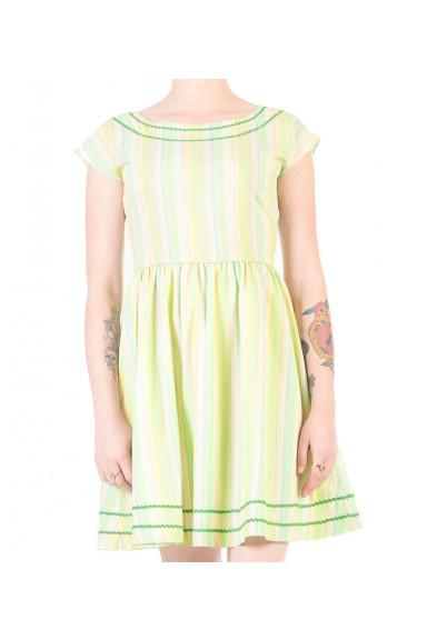 Stripe Me Happy Dress