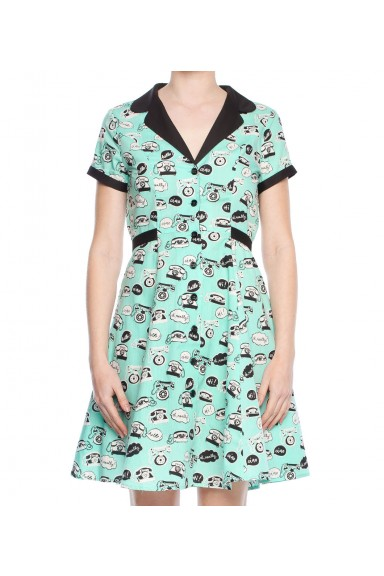 Phone Conversation Dress