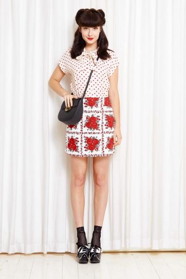 Thorns & Roses Skirt